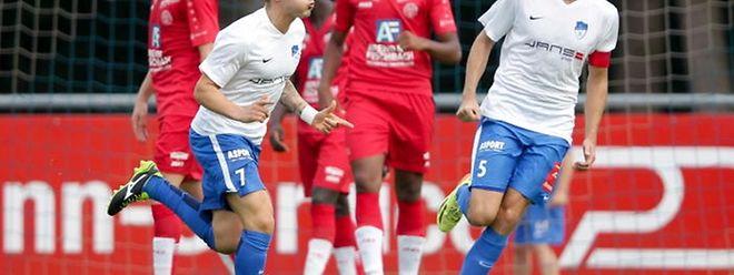 Avec 7 buts inscrits sur les 19 d'Etzella, Francois Augusto est l'élément clé du dispositif offensif des Nordistes.
