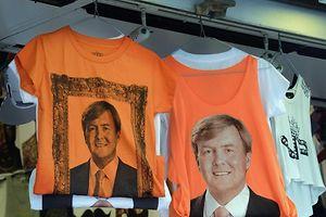 Die T-Shirts für die Feierlichkeiten sind bereits gedruckt. Foto:Lex Van Lieshout