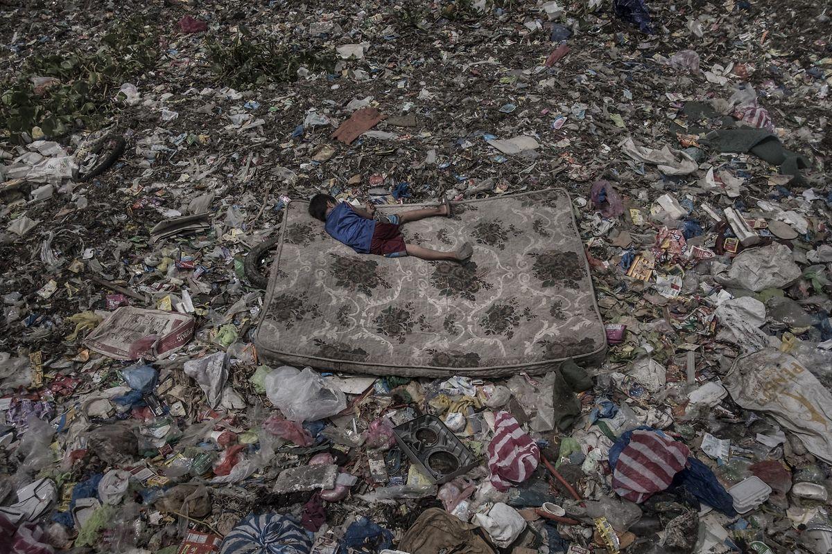 """A imagem do fotojornalista português ficou em terceiro lugar no World Press Photo 2019, na categoria """"Ambiente""""."""