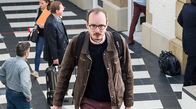 The lawyer for Antoine Deltour, (pictured) who is considered to be the main whistleblower, will plead for his acquittal.