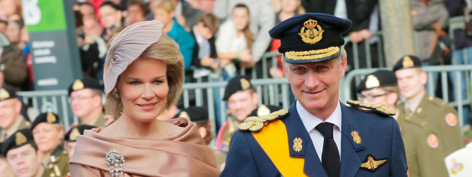 Im Oktober 2012 waren Kronprinz Philippe und Prinzessin Mathilde von Belgien in Luxemburg für die Hochzeit von Erbgroßherzog Guillaume und Gräfin Stéphanie de Lannoy.