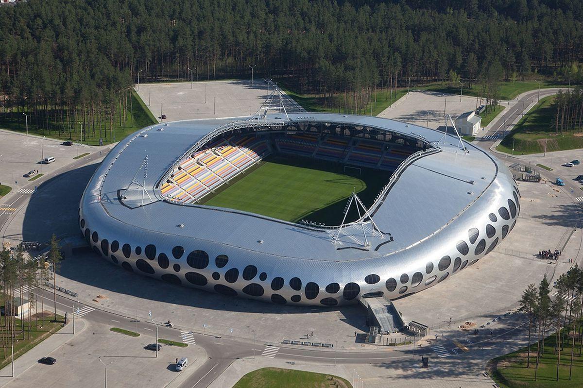 La très moderne Borisov Arena peut accueillir 13.126 spectateurs, Combien seront-ils lundi soir pour accueillir le Luxembourg?