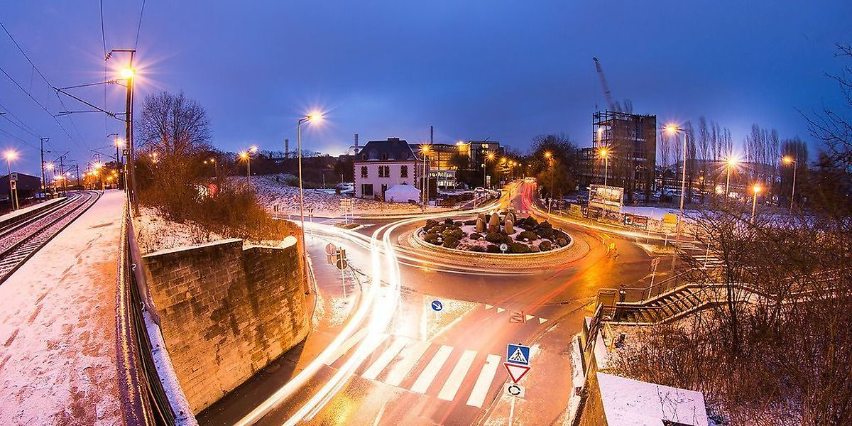 L'entrée du centre-ville de Differdange aura un nouveau visage avec de nombreux aménagements dont la construction du centre commercial.