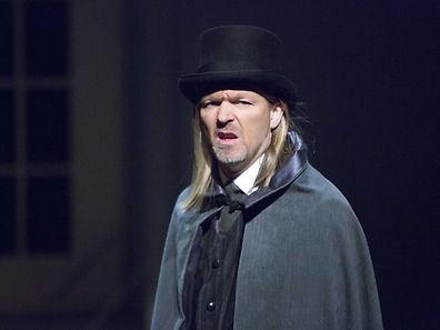 "Repetition de la piece de theatre ""A Christmas Carol"" / Foto: Steve EASTWOOD"