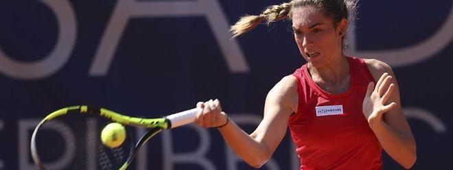 Eléonora Molinaro a aisément dompté la Française Marie Temin, ce mercredi au 1er tour du tournoi ITF de Cuneo, dans le Piémont