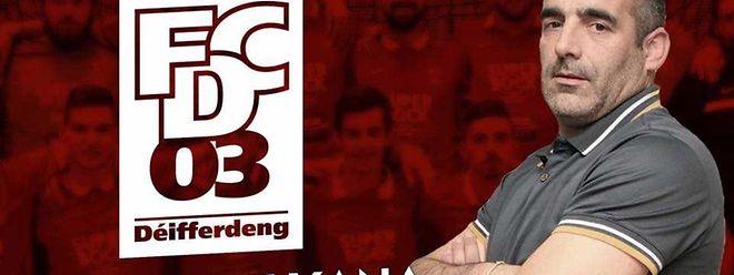 Jorge Xana Branco é o novo treinador do FC Differdange 03