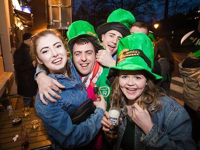 In den Irish Pubs in Luxemburg herrschte am Freitag Feierstimmung.