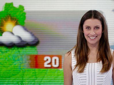 Hinter der entspannten Fassade verbirgt sich oft ein starker Charakter, wie bei Valérie Wagner, der Wetterfee von RTL. / Foto: Inna GANSCHOW