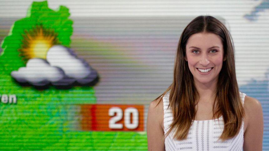 Hinter der entspannten Fassade verbirgt sich oft ein starker Charakter, wie bei Valérie Wagner, der Wetterfee von RTL.