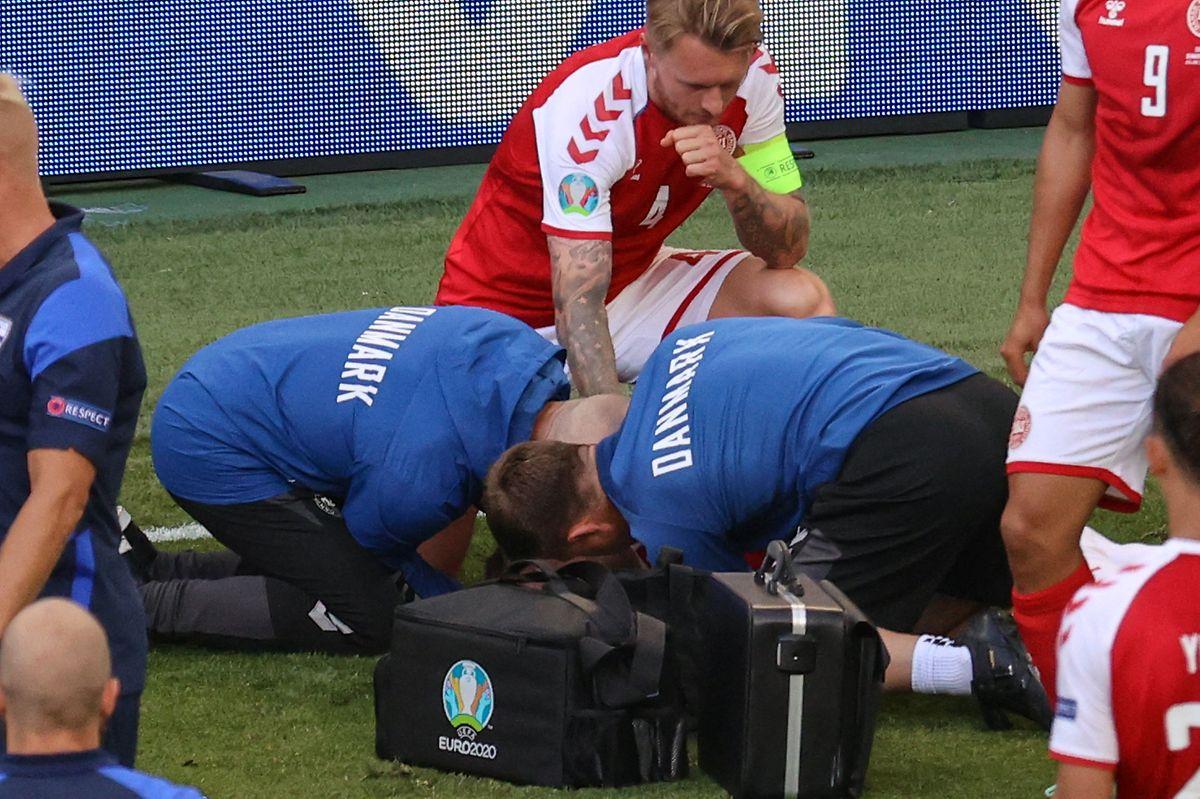 Christian Eriksen musste offenbar wiederbelebt werden.