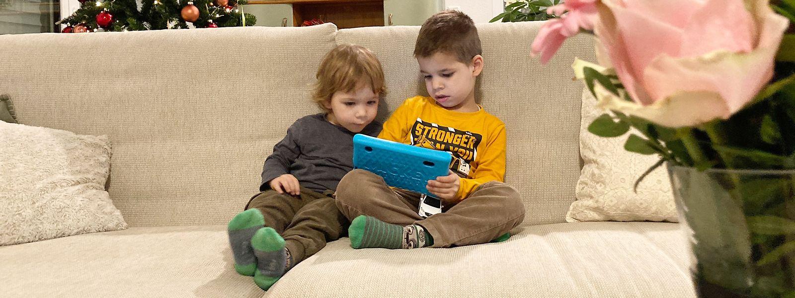 Platz für Experimente: Auf spielerische Art lernen Kinder mit Tablets die digitale Welt kennen.