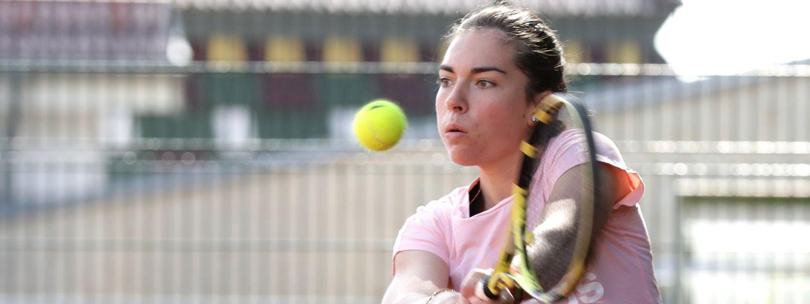 Eléonora Molinaro sucht eine neue Herausforderung abseits des Tennisplatzes.
