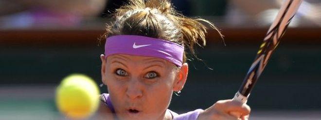 La Tchèque Lucie Safarova a désormais les yeux rivés sur sa première finale en Grand Chelem