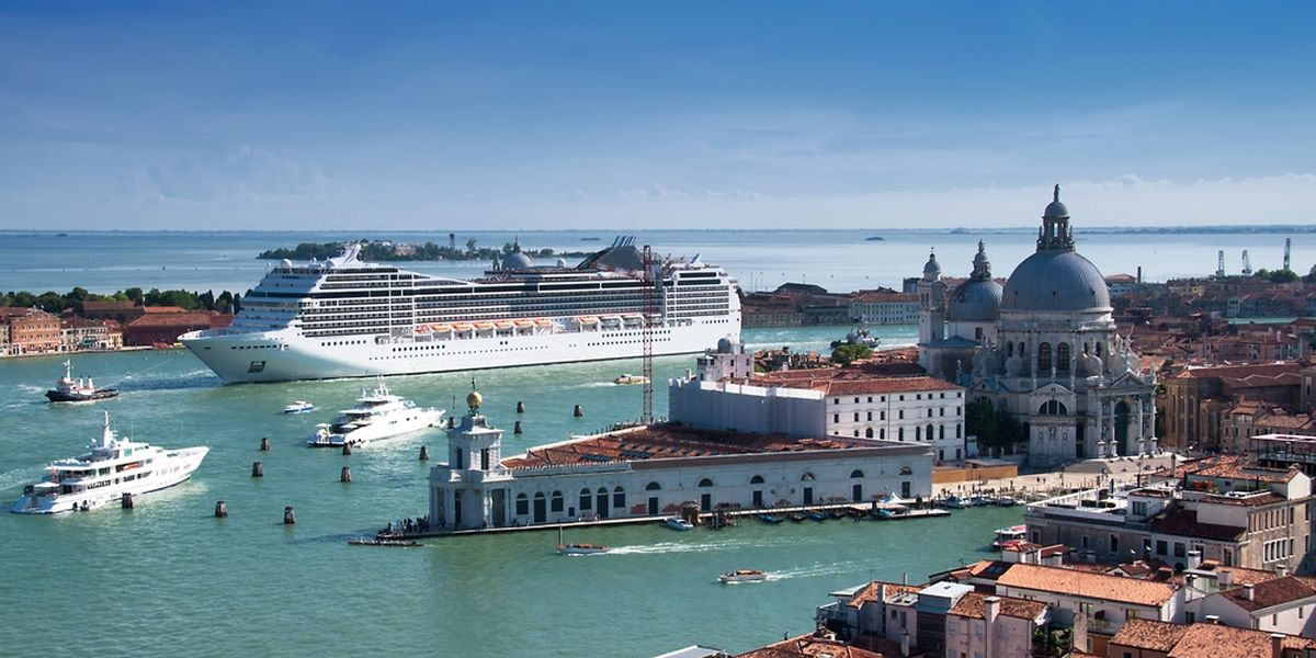 Die Venzianer stören sich am Kreuzfahrttourismus.