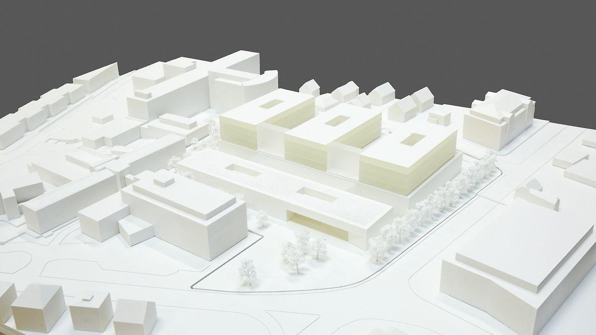 """Das Projekt des Teams """"Ludes Generalplaner GmbH"""" erhielt den zweiten Preis."""