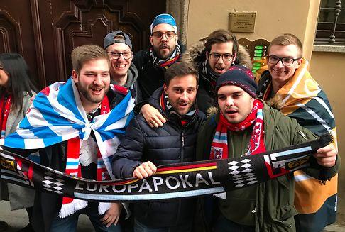 Die F91-Fans und ihr Nachmittag im Pub