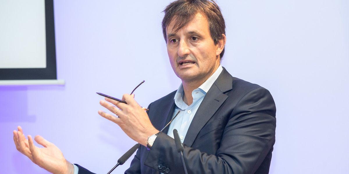"""Nicolas Buck plaide pour une stratégie luxembourgeoise de """"réindustrialisation""""."""