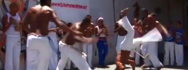 "Der brasilianische Tanzkampf Capoeira soll ""immaterielles Welterbe"" werden."