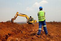 Bauland Grundstück Wohnungsbau Bebauungsplan Logement Bagger