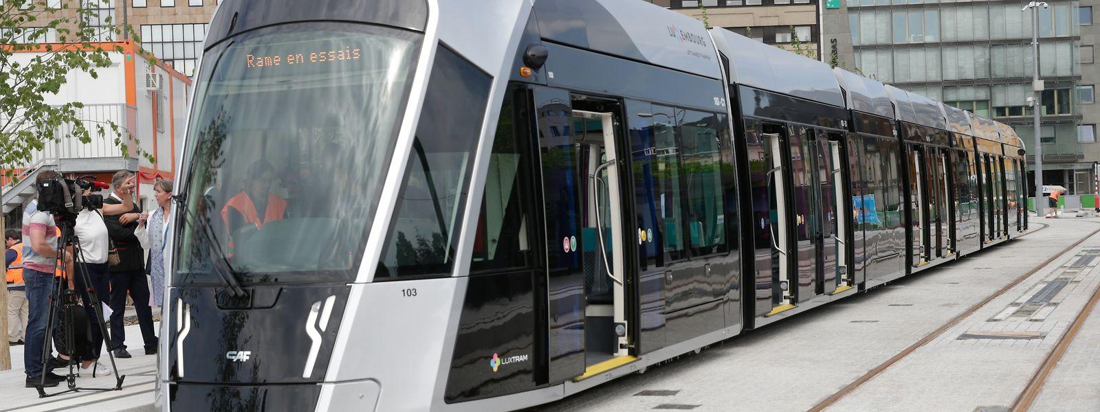 Die Express-Tram würde sich lediglich technisch, nicht aber äußerlich von der bestehenden Straßenbahn unterscheiden.