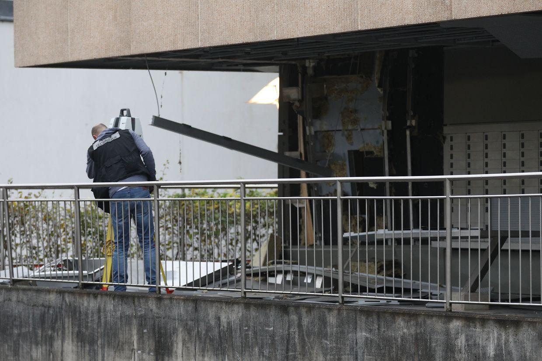 In Mersch wurde in der Nacht zum Donnerstag ein Geldautomat gesprengt.