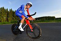 Kevin Geniets (Groupama-FDJ) ist Landesmeister 2021 im Zeitfahren - Radsport-Landesmeisterschaften im Zeitfahren 2021 - Foto: Serge Waldbillig