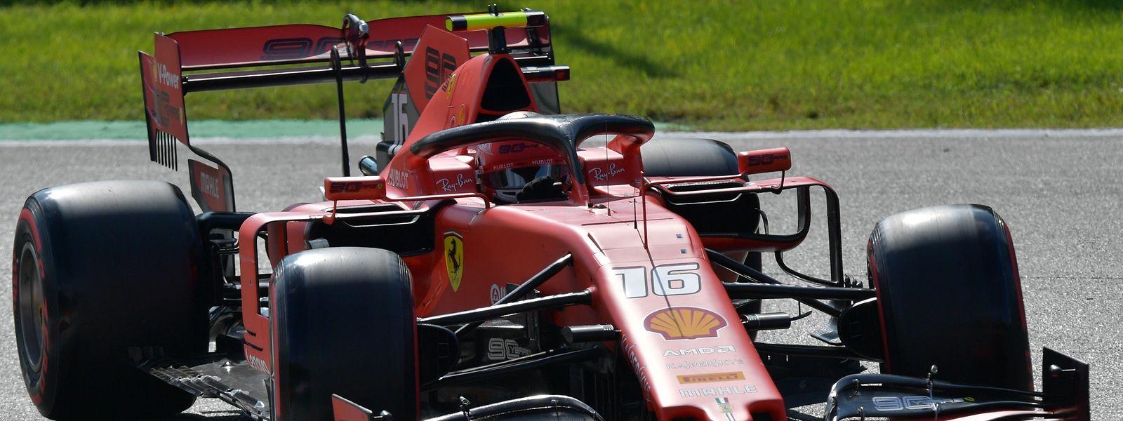 Charles Leclerc will in Monza seinen zweiten Saisonsieg holen.