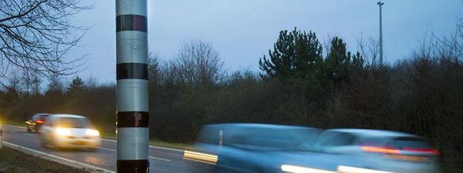 Blitzer helfen, die Unfallstatistik zu verbessern.