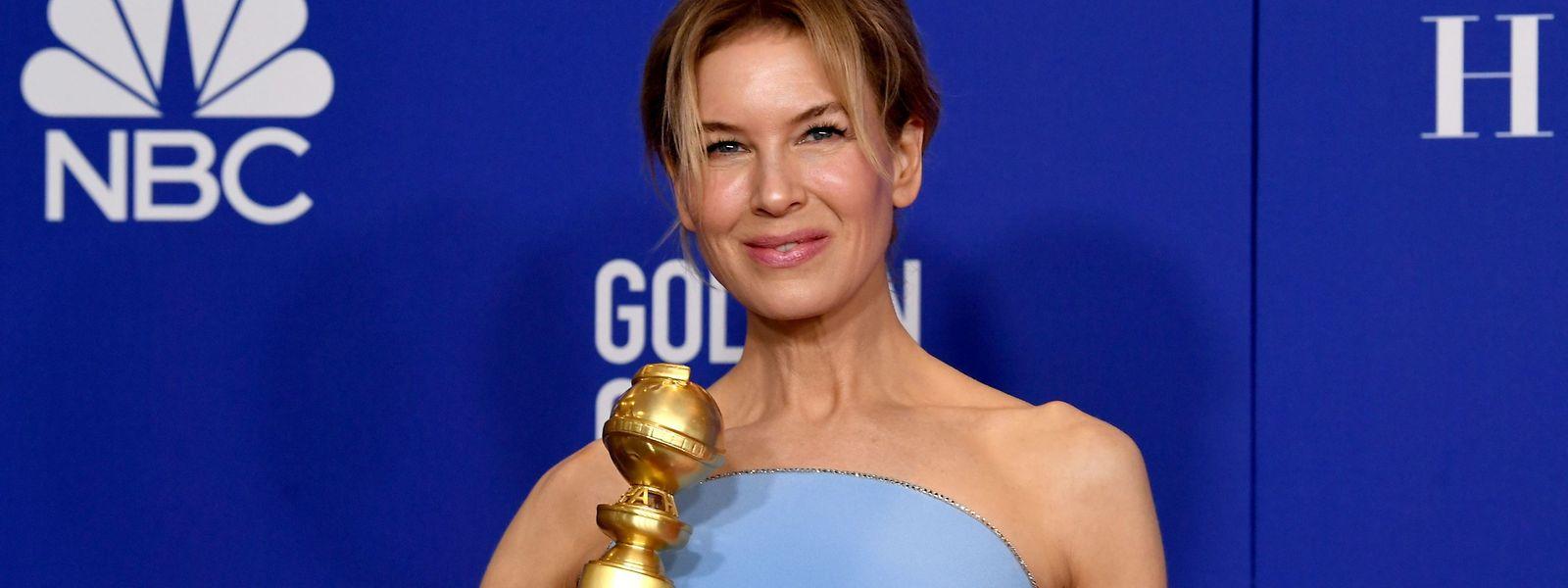 """Ein fantastischer Januar: Renée Zellweger erhielt für ihren Auftritt in """"Judy"""" sowohl einen Golden Globe als auch einen Critic's Choice Award."""