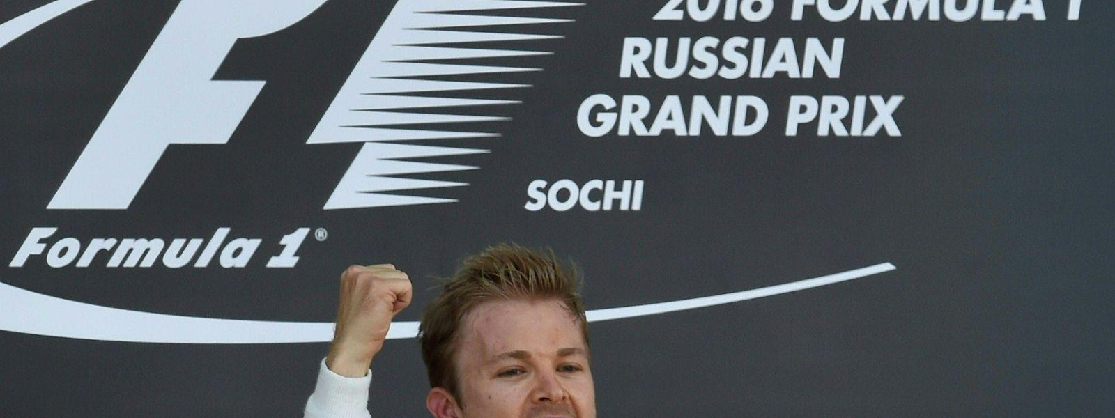 Nico Rosberg (Mercedes) holte auch im vierten Rennen der Saison die volle Punktzahl.