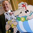 Albert Uderzo, Miterfinder der Asterix-Comics, will das wiedergefundene Glück mit seiner Tochter genießen.