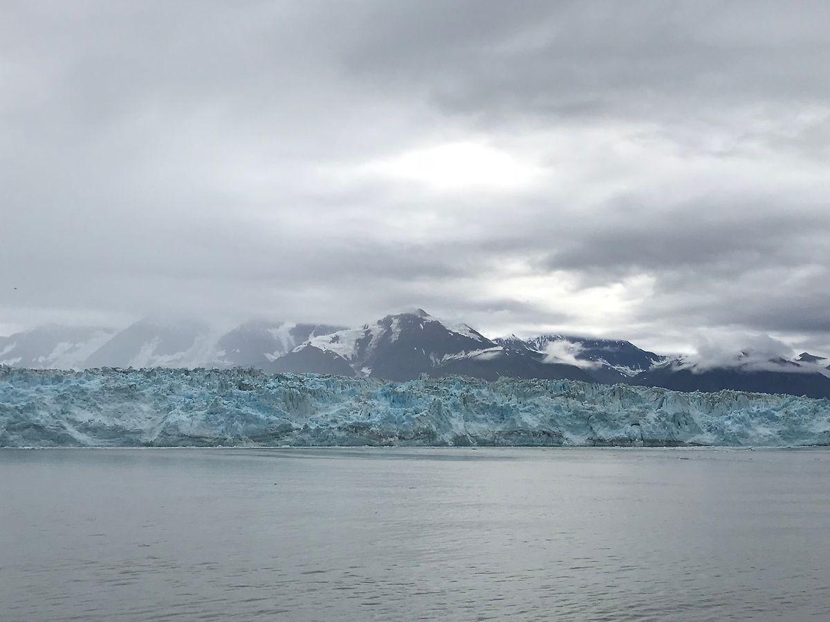 Der Hubbard Glacier ist der größte Gletscher Nordamerikas.