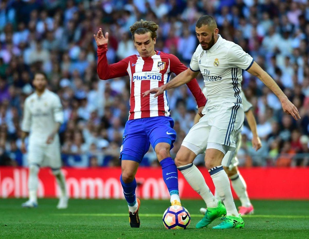 Si le Real Madrid de Karim Benzema évoluera en déplacement, l'Atletico d'Antoine Griezmann se doit de faire la différence à domicile contre Leicester.