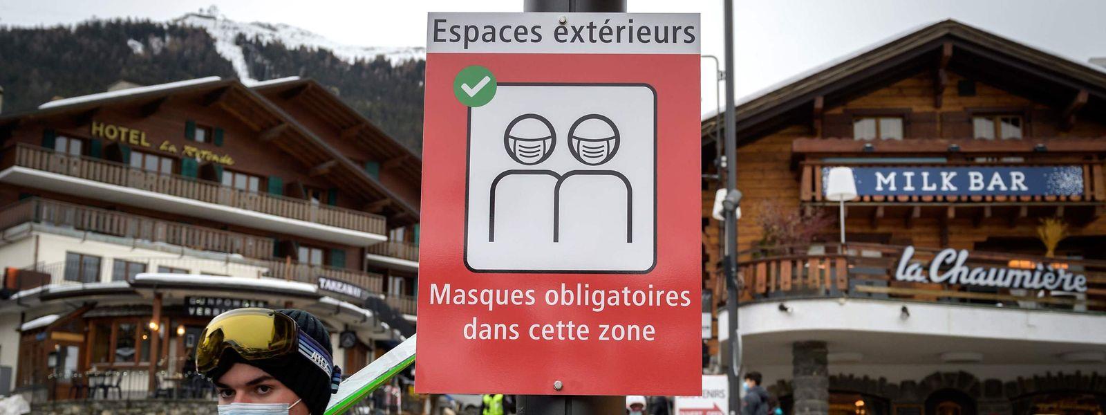 Die Schweiz - hier eine Aufnahme aus dem Wintersportort Verbier - heißt nach wie vor Besucher willkommen.