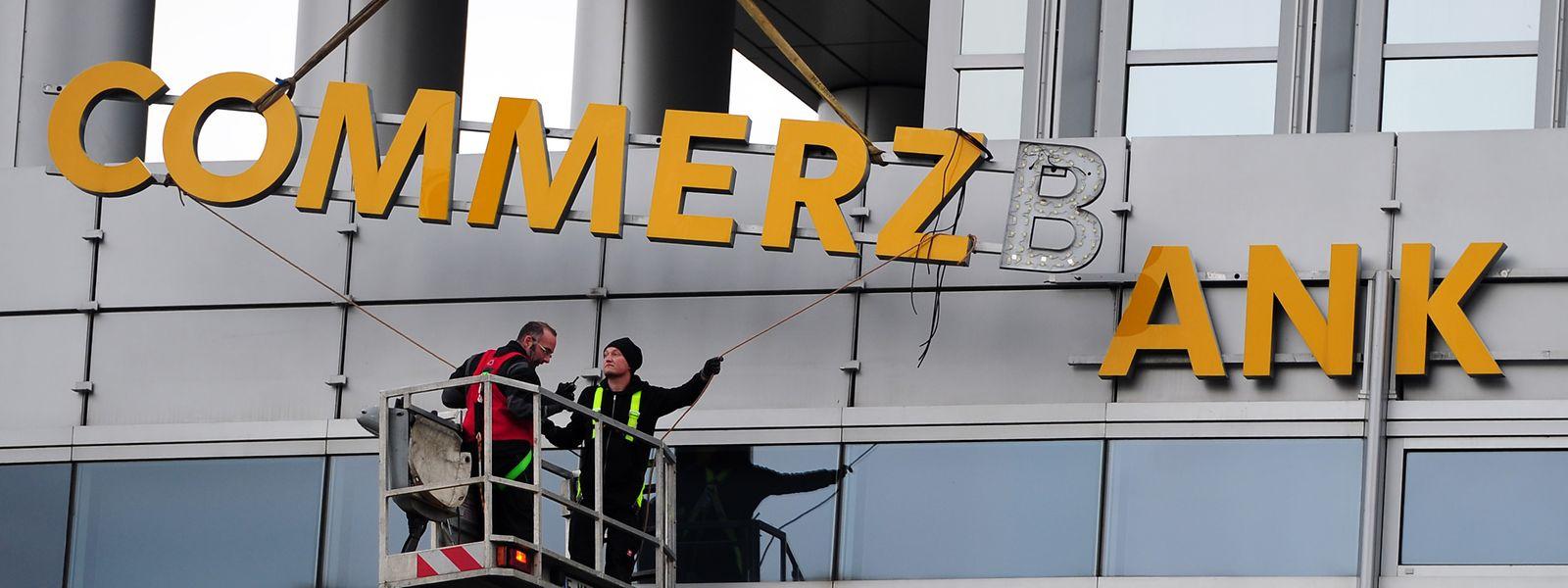Der Konzern wird umgebaut. Die Commerzbank in Luxemburg schließt 2024 ihre Türen.