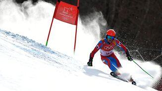 Matthieu Osch belegte im olympischen Riesenslalom den 62. Rang.