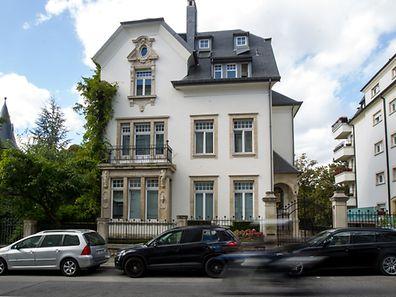 La villa sise au 59 boulevard de la Pétrusse loge les intérêts économiques de M. Malkin au Luxembourg.