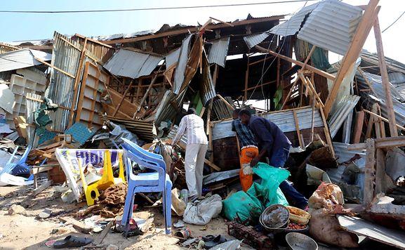 Mindestens 20 Tote und viele Verletzte bei Selbstmordanschlag in Somalia
