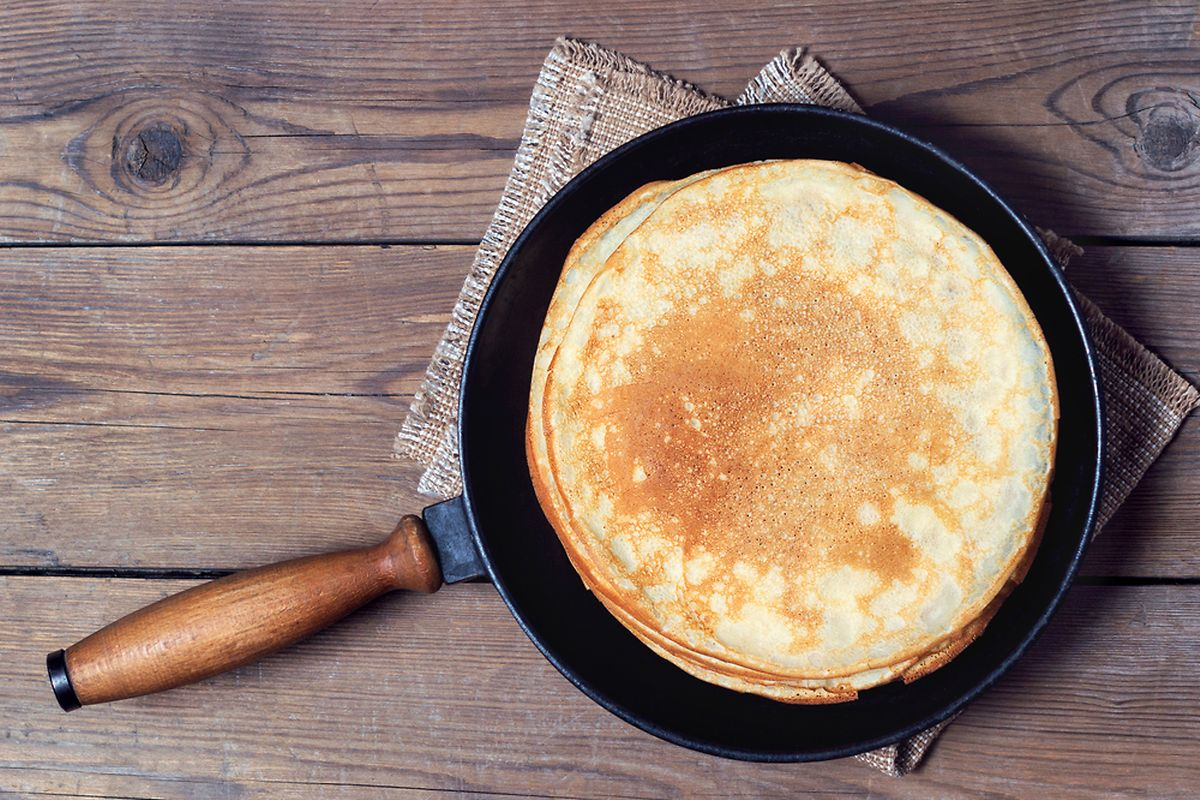 Pope Gelasius I distributed pancakes to pilgrims in the 5th century Photo: Shutterstock