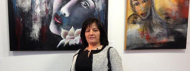 Esta é a primeira grande exposição de Eduarda Almeida