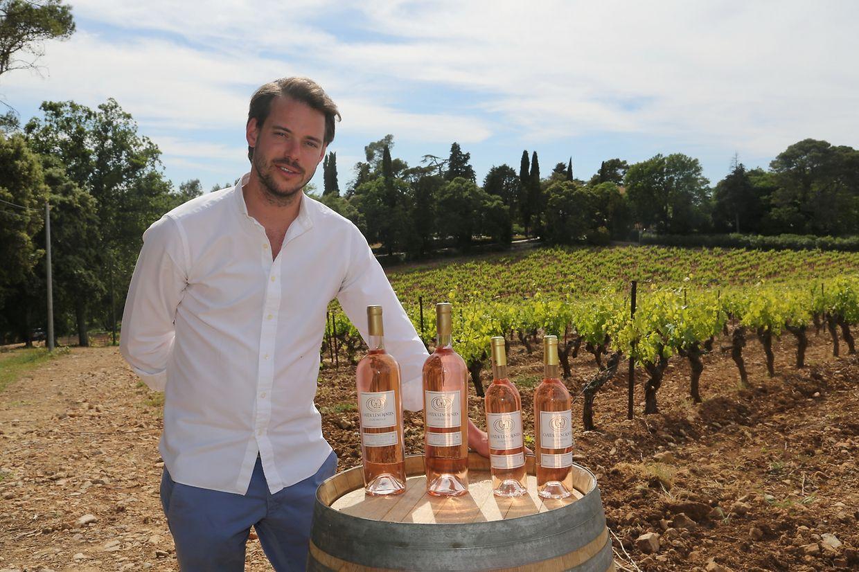 Die Rosé-Trauben des Weinguts reichen für rund 400.000 Flaschen im Jahr.