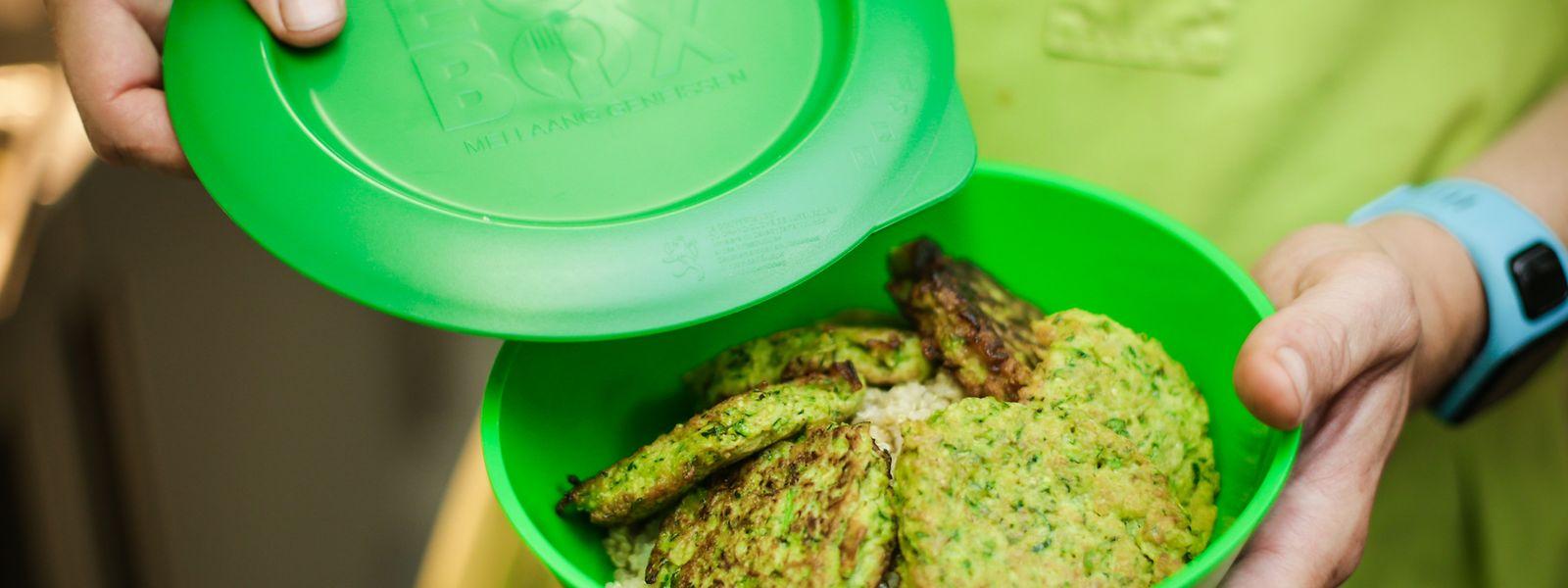 Mit der ECOBOX soll weniger Essen in den Müll wandern.