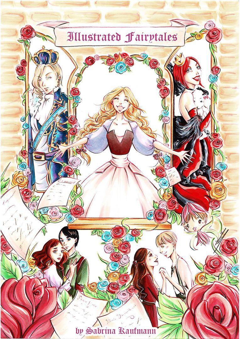 """Unter dem Titel """"Illustrated Fairytales"""" gestaltet Sabrina Kaufmann Märchen der Gebrüder Grimm."""