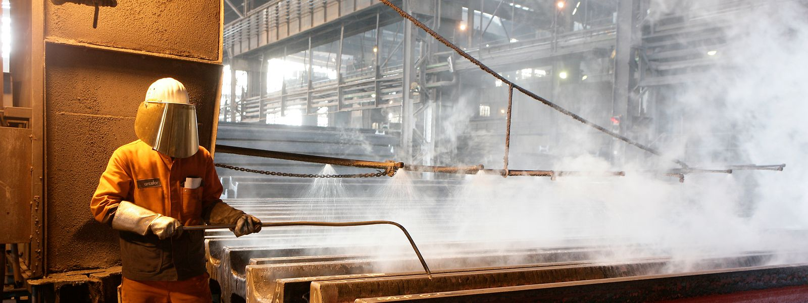 Gegenwärtig ist die Stahlindustrie noch einer der größten Verursacher von CO2-Emissionen. Das soll sich im nächsten Jahrzehnt ändern.
