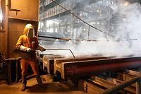 illustration  arcelor mittal, arcelormittal,  stahl, arbeit, industrie, stahlwerk, acier, photo: Marc Wilwert