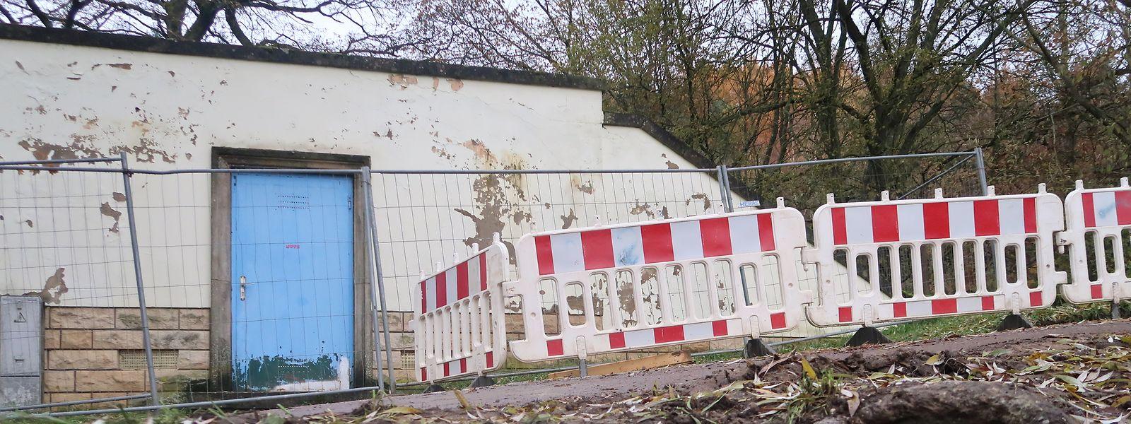Der Wasserbehälter Schleifmillen soll bald außer Betrieb genommen werden.