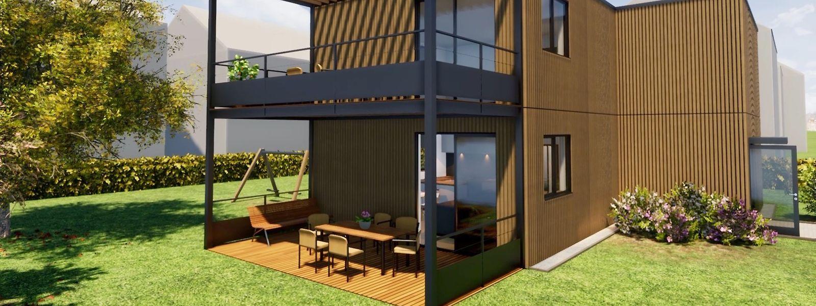Evoqué depuis 2017, le projet de solution modulaire amovible défendu par l'agence immobilière sociale devrait se concrétiser d'ici la fin de l'année, sur un terrain appartenant à la commune de Schifflange.