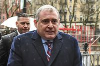 NEW YORK, NY - DECEMBER 17: Lev Parnas arrives at Federal Court on December 17, 2019 in New York City. Parnas, an associate of Rudy Giuliani, appears in court on Tuesday as federal prosecutors seek to have his bail revoked for allegedly concealing a $1 million payment they say he received from Russia before his arrest.   Stephanie Keith/Getty Images/AFP