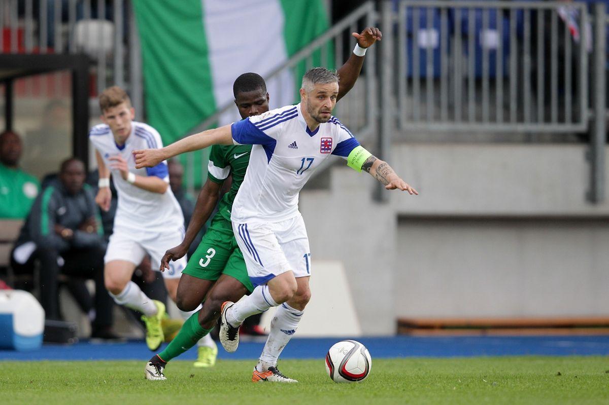 Le capitaine Mario Mutsch a ajouté une 86e cape à son palmarès en équipe nationale