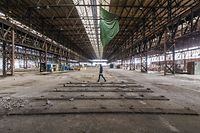 Lokales, Agora - Rekonversion des ehemaligen Stahlwerksgeländes Esch/Schifflange Arcelor Mittal, Foto: Lex Kleren/Luxemburger Wort